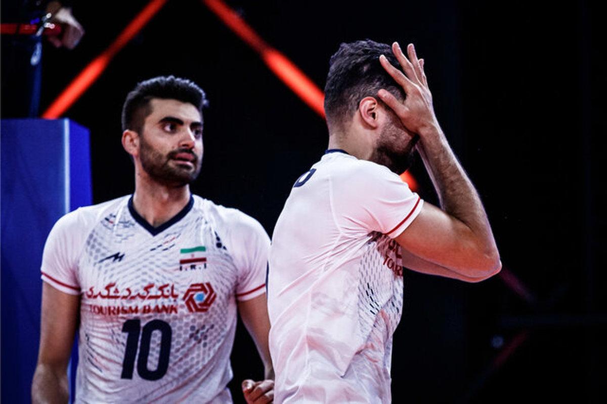 تیم ملی والیبال ایران در رنکینگ زنده جهانی جای خود را به ژاپن داد