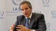 گروسی: ایران آژانس را در جریان غنیسازی ۶۰ درصد قرار داده |  بازرسان آژانس در تأسیسات نطنز حضور دارند