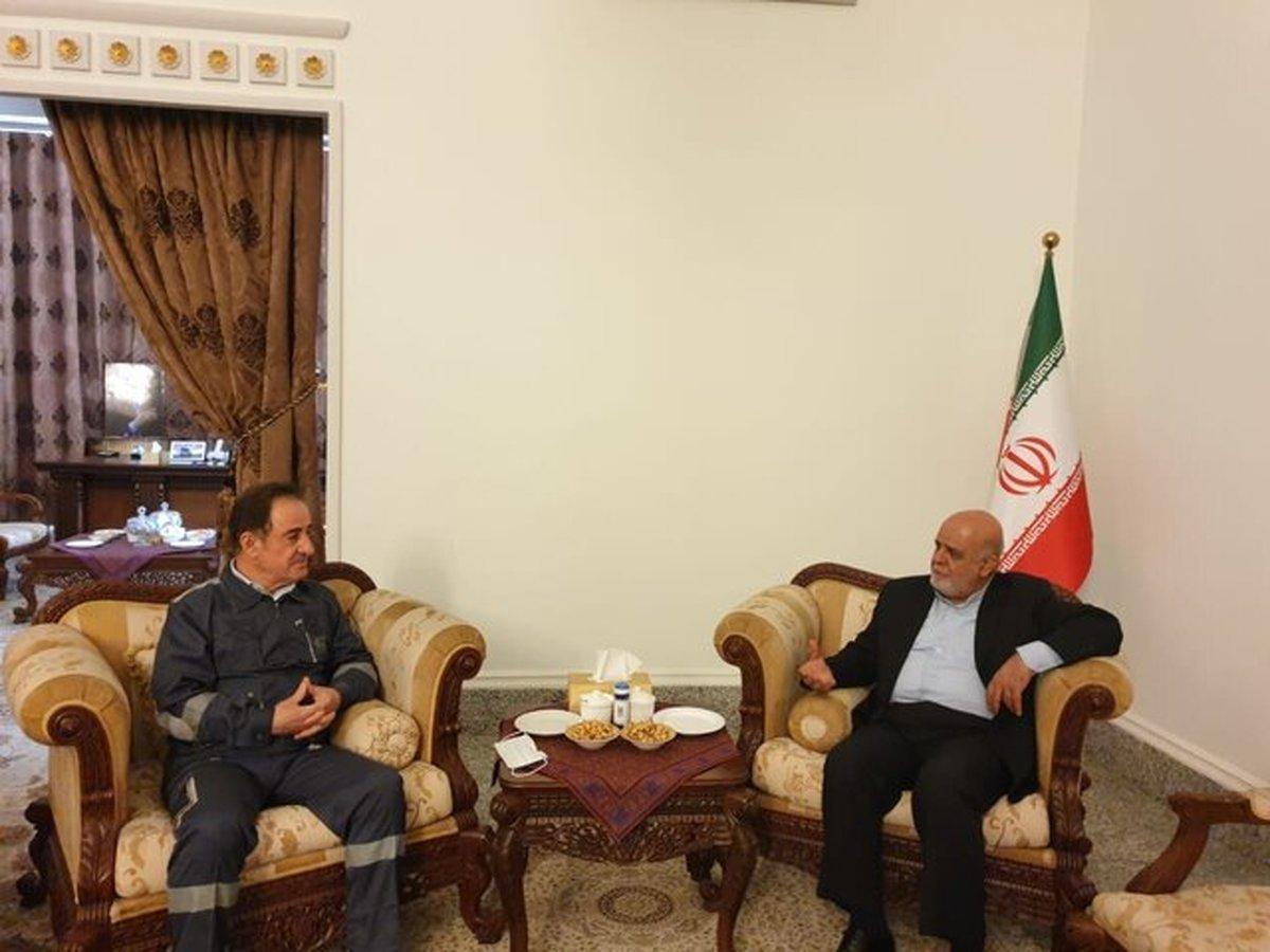 رایزنی سرپرست وزارت برق عراق با سفیر ایران در بغداد