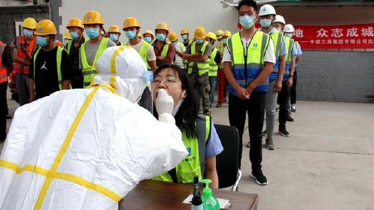 کرونا | چین برای سومین روز متوالی آمار بالای ۱۰۰ نفر را ثبت کرد