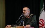 هشدار صریح فرمانده کل سپاه به آمریکا و اسرائیل: دست از پا خطا کنید هر دوی شما را میزنیم