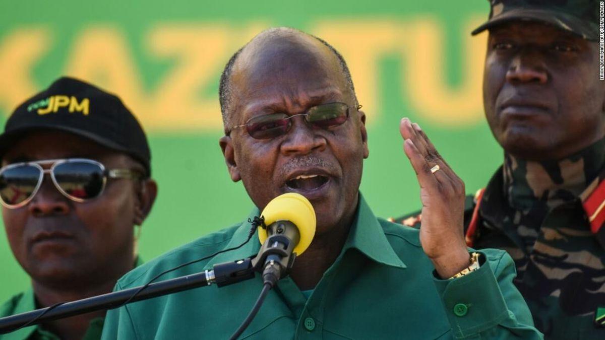 رییس جمهور تانزانیا درگذشت