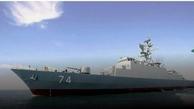 ۲ ناو ایرانی نیروی دریایی ارتش به روسیه رسید