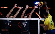 تیم ملی والیبال؛ بازنده سربلند مقابل برزیل
