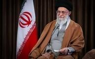 تصویر ی از رهبر انقلاب در آبهای خلیج فارس
