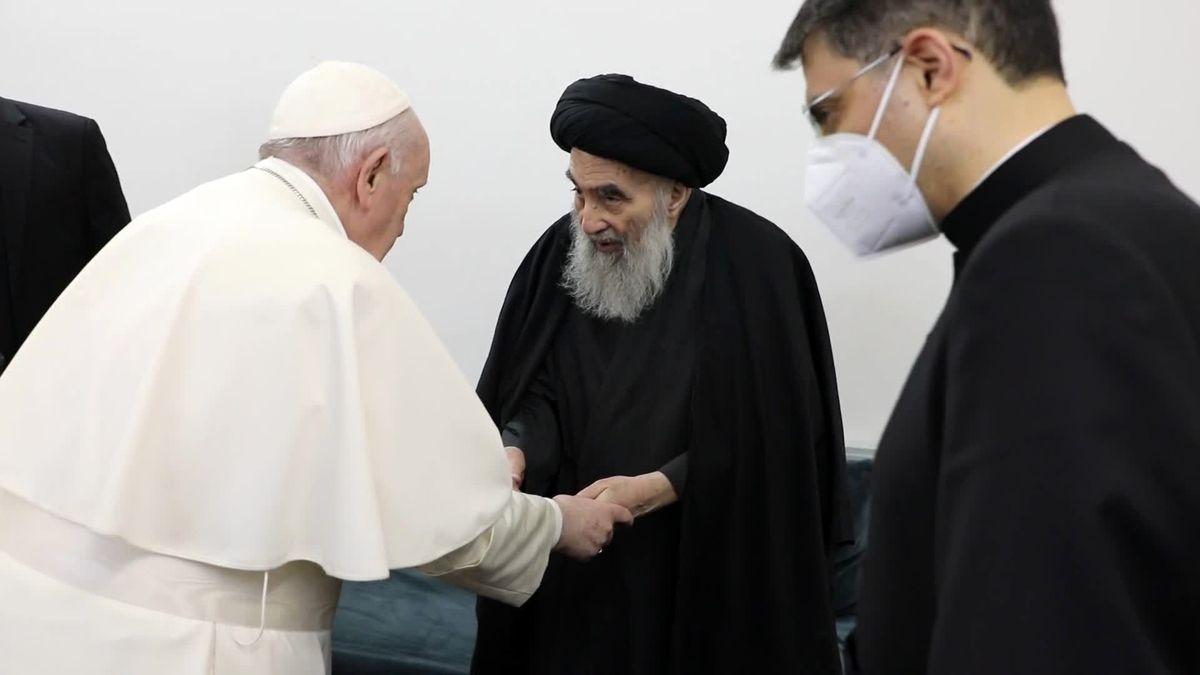 جزئیاتی جدید ازملاقات پاپ و آیتالله سیستانی در نجف اشرف