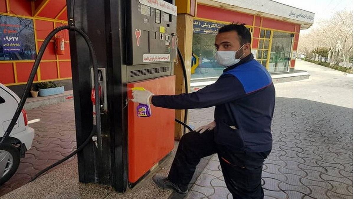 خطر انتقال کرونا در جایگاههای سوخت را جدی بگیرید