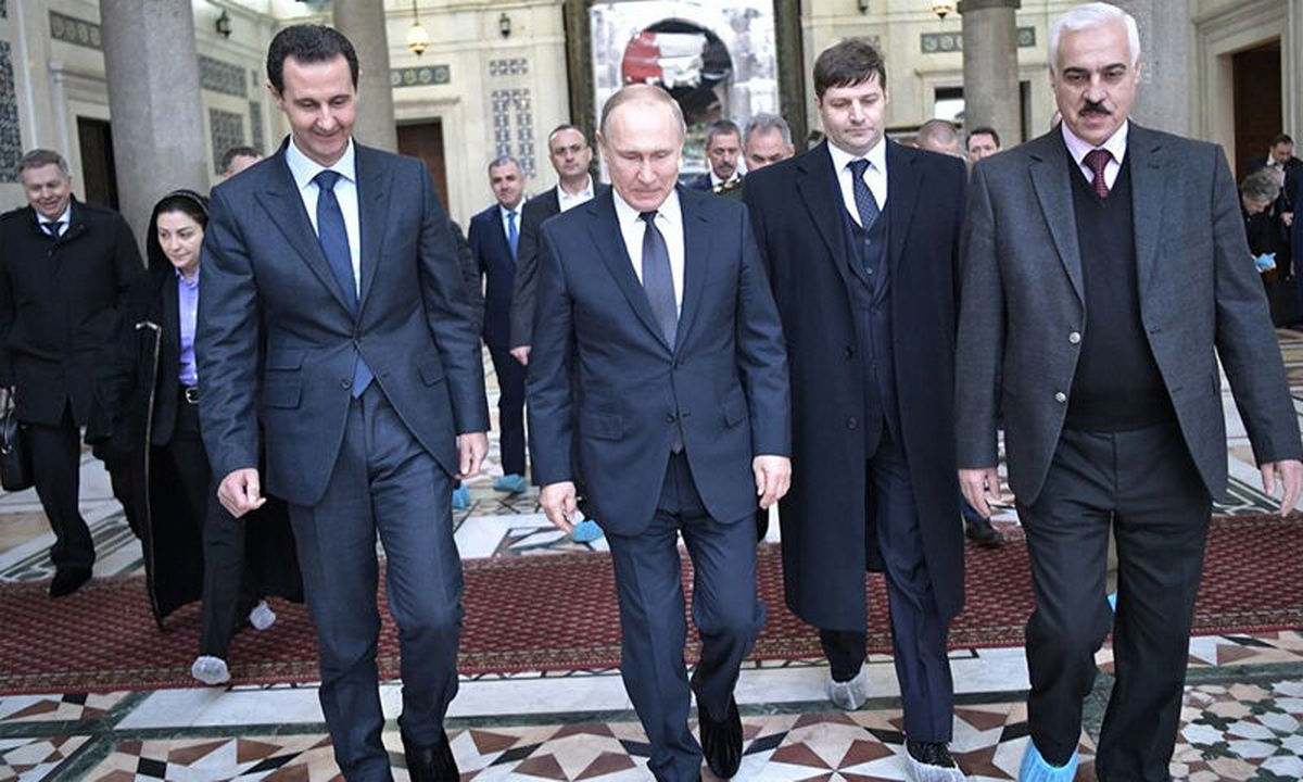 پوتین  |  رئیس جمهور روسیه از سفر غیرعلنی اش به دمشق پرده برداشت.