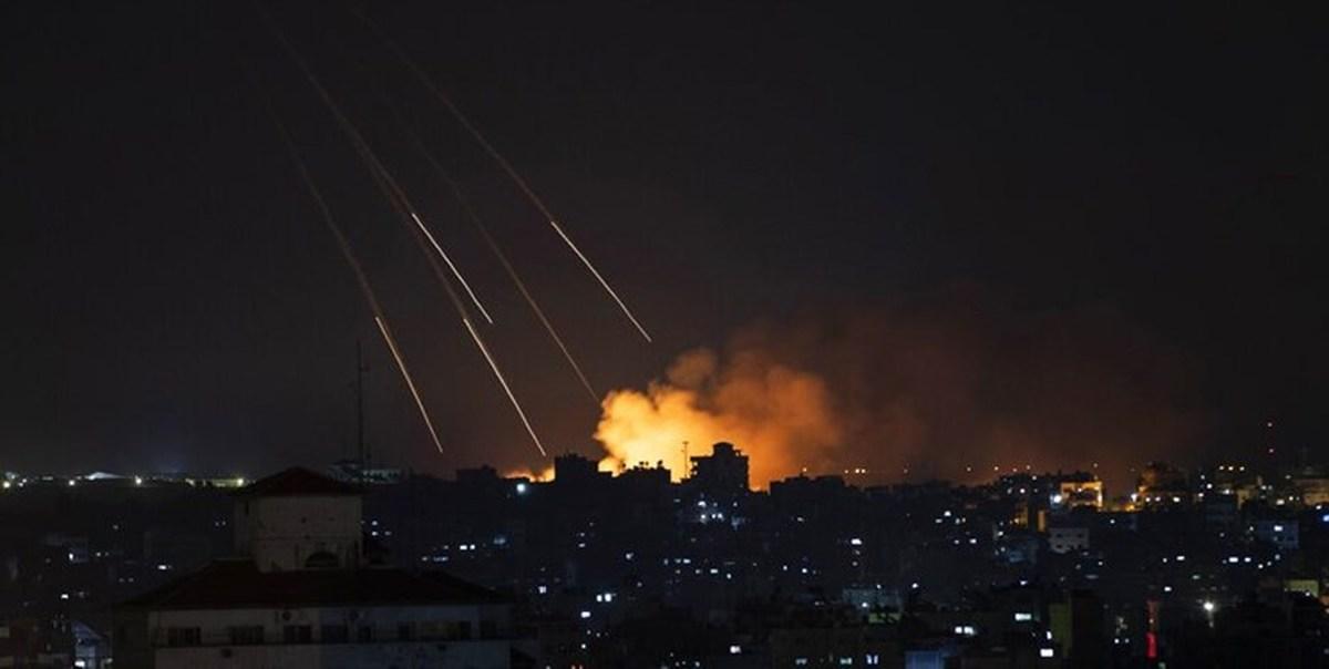 دو پایگاه نظامی اسرائیل توسط حماس موشک باران شد