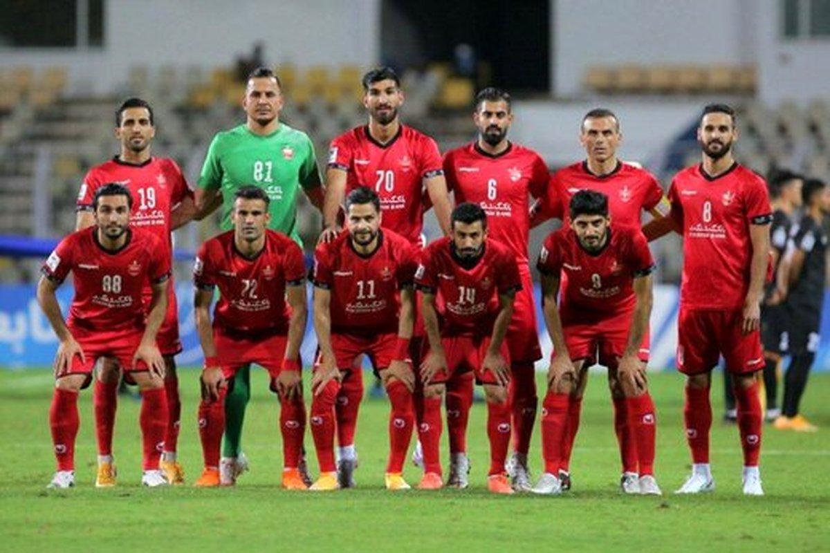 پرسپولیس در صدر جدول | صعود پرسپولیس به مرحله حذفی لیگ قهرمانان آسیا
