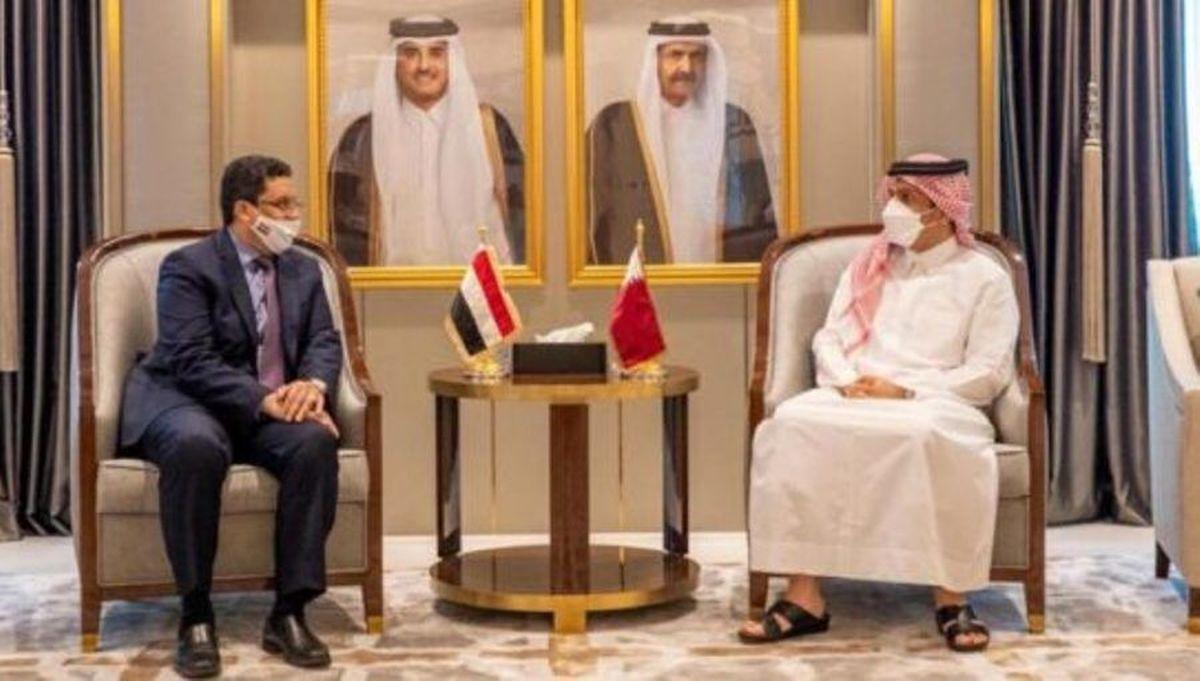 یمن     از سرگری روابط دیپلماتیک قطر با دولت منصور هادی در یمن