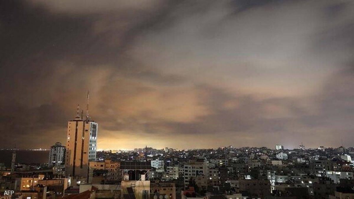 گشت زنی پهپادهای ارتش رژیم صهیونیستی در حریم هوایی غزه