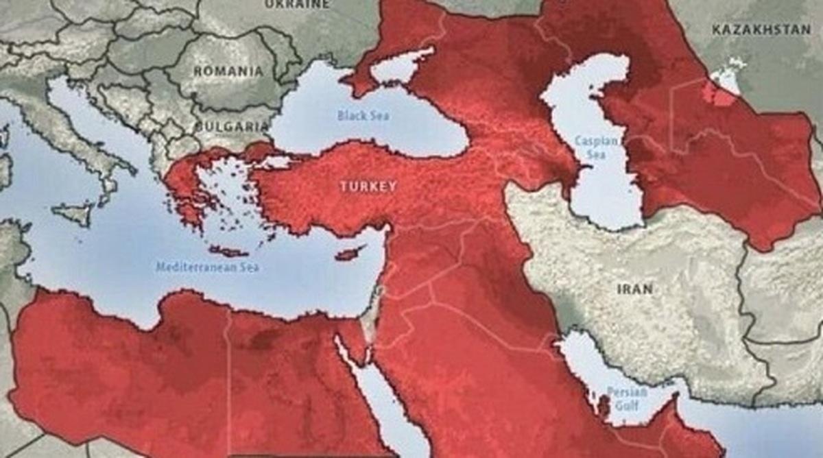 توهم اردوغان برای احیای امپراطوری عثمانی| اردوغان سال 2050 را می بیند؟