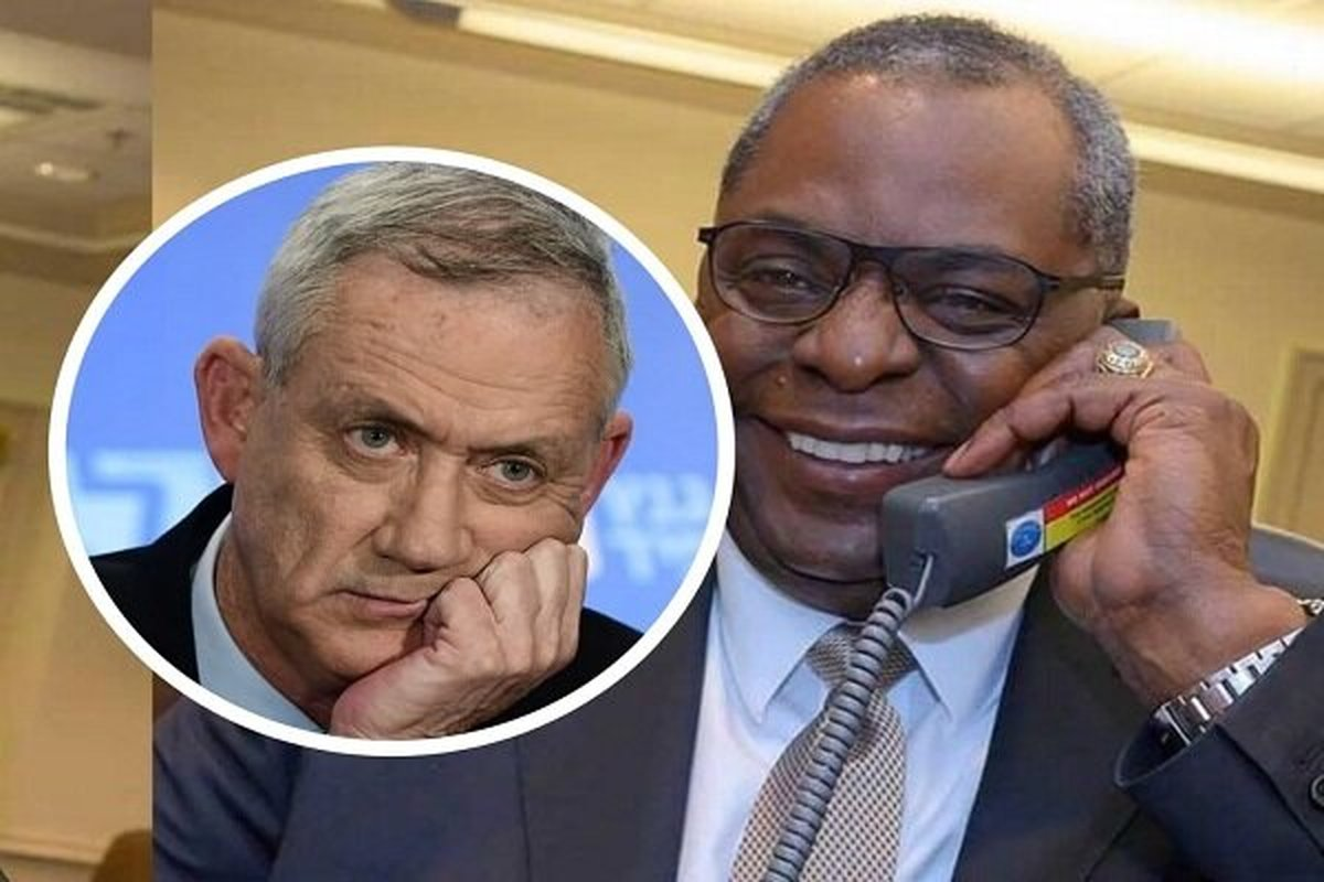 وزیر جنگ رژیم صهیونیستی با «لوید آستین» گفتگو کرد