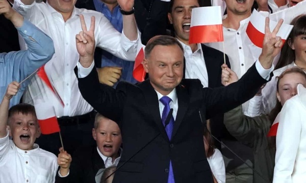 """پیروزی """"آندژی دودا"""" در انتخابات ریاست جهوری لهستان"""