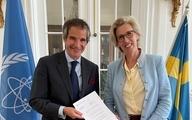 حمایت مالی سوئد از فعالیتهای آژانس بینالمللی انرژی اتمی در ایران