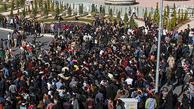 گزارش صداوسیما از رویدادهای تبریز: عده ای فرصت طلب قصد به حاشیه کشاندن درخواست مردمی را داشتند که متفرق شدند