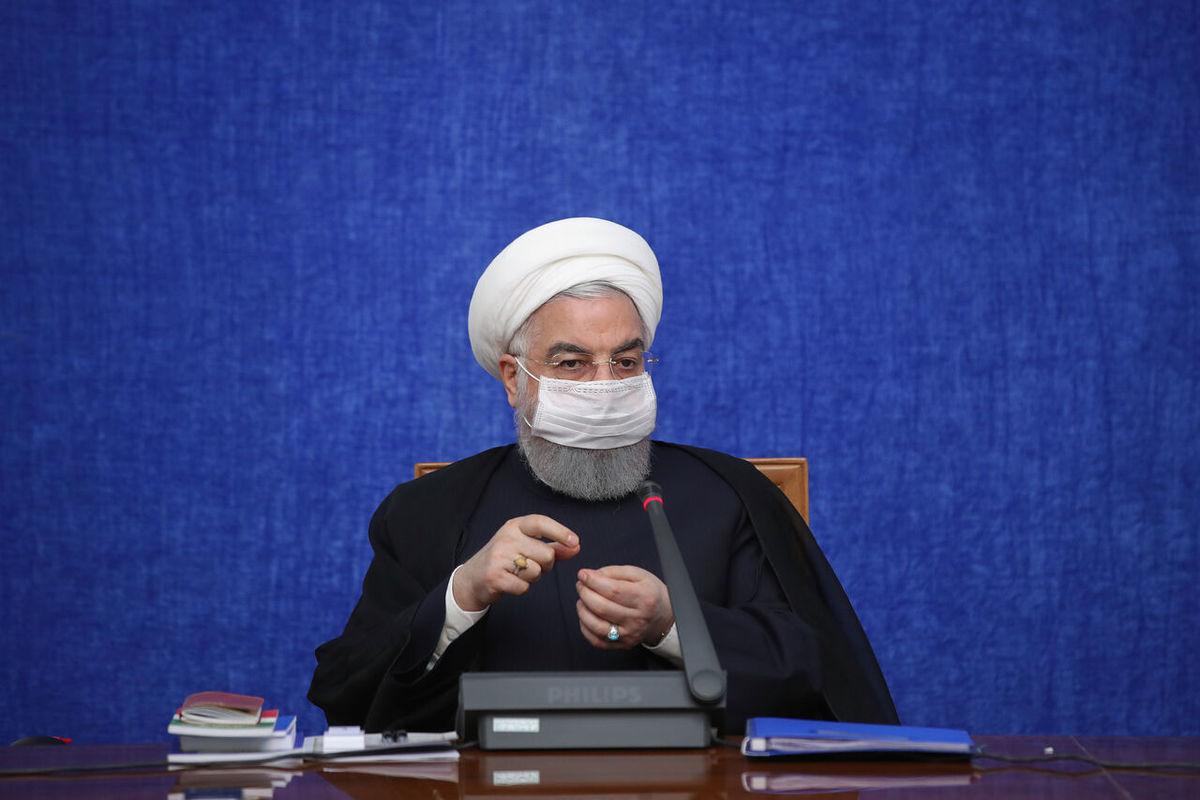 روحانی      وزارت صمت از آشفتهکردن بازار توسط دلالان و سودجویان جلوگیری کند