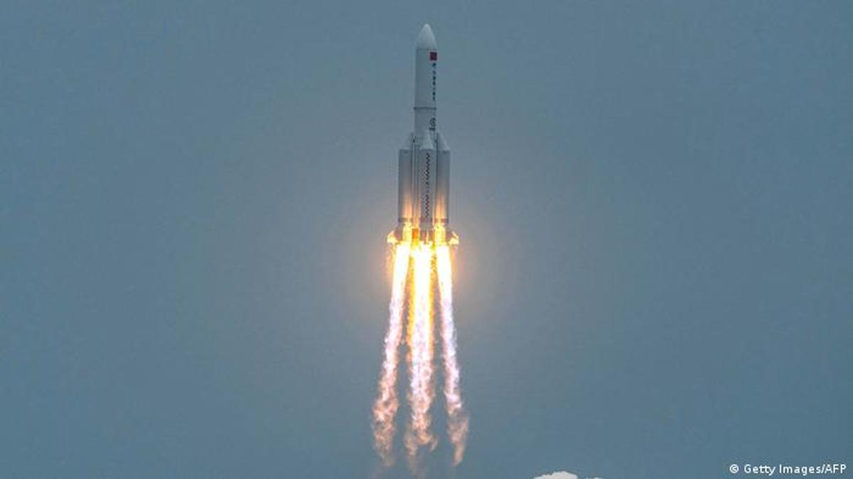 محل فرود بقایای موشک چینی در ترکمنستان دریا نخواهد بود