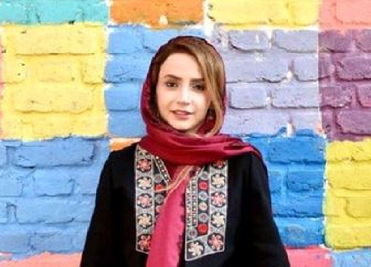 شال عروسکی شبنم قلی خانی +عکس