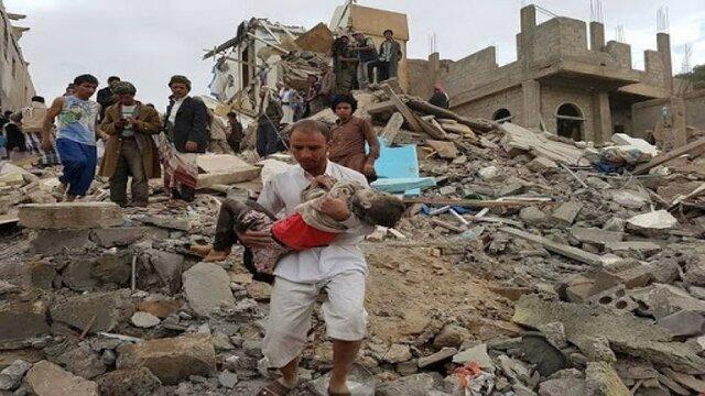 کشته شدن غیرنظامیان در حملات هوایی ائتلاف سعودی در مأرب
