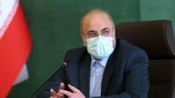 قالیباف با رئیس جمهور سوریه دیدار کرد