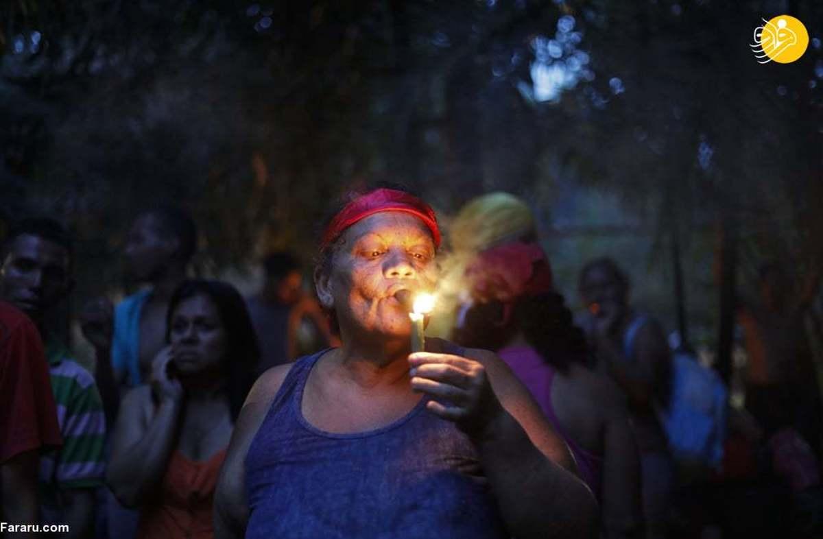 پیروان یک آیین عجیب در ونزوئلا