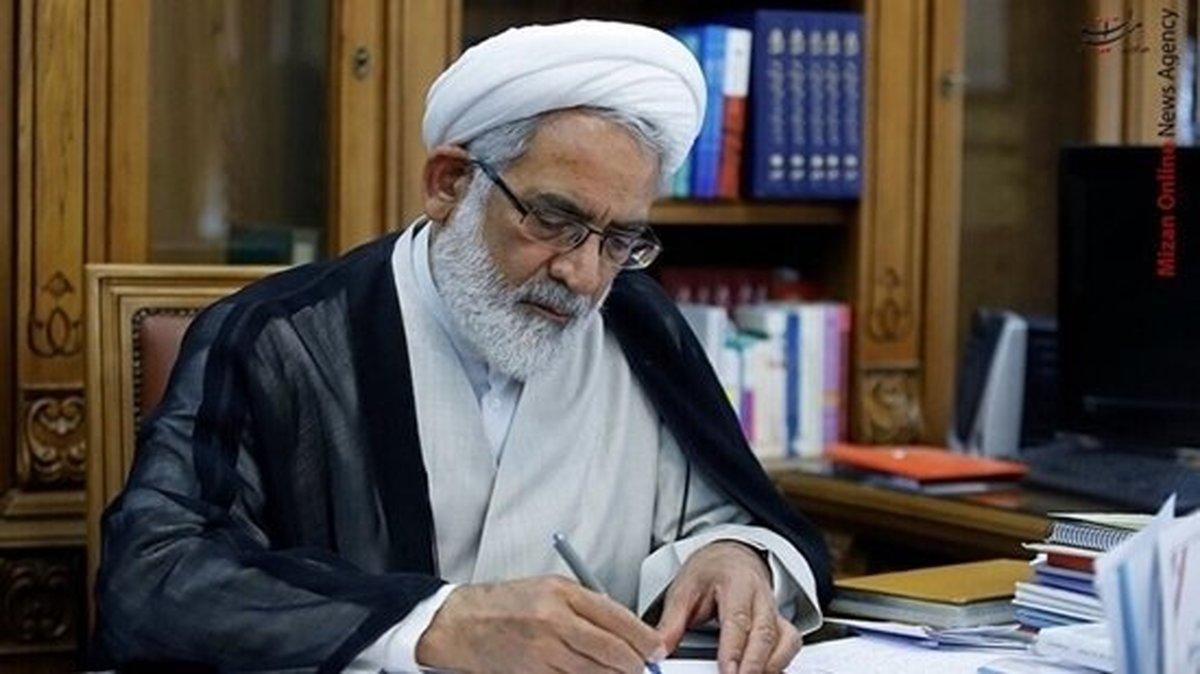 دادستان کل کشور درگذشت سرلشکر فیروزآبادی را تسلیت گفت