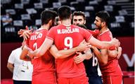 والیبال ایران مقابل ونزوئلا به پیروزی رسید