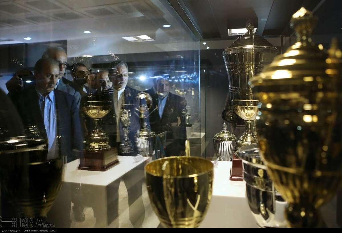افتتاح موزه ورزش با حضور جهانگیری