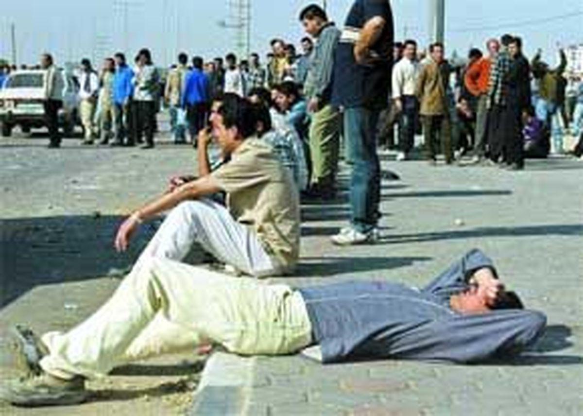 اتاق انتظار بیکاری در ایران