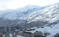 ارتفاعات تهران طی ساعات آتی احتمال وقوع برف زیاد است