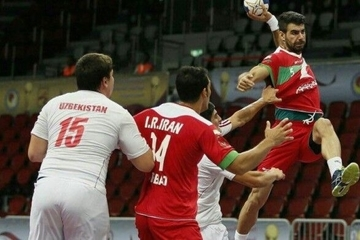 تیم ملی هندبال ایران مسابقات قهرمانی آسیا را با بُرد آغاز شروع کرد