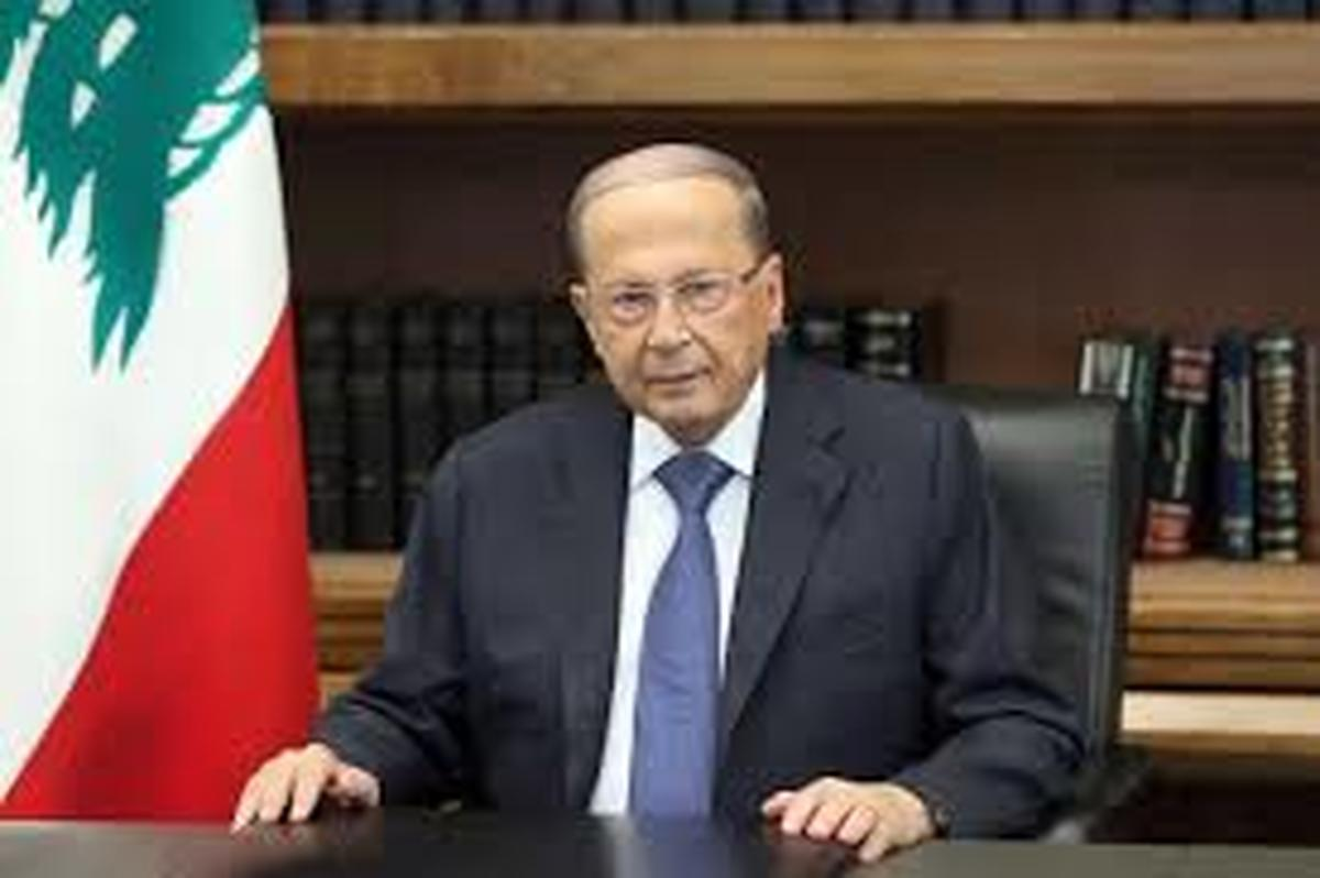 میشل عون: آتشی که در بندر بیروت درگرفت احتمالا اقدامی خرابکارانه بوده است