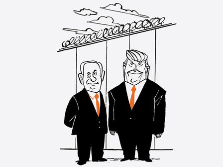 ترامپ و نتانیاهو؛ خدمات متقابل دو «عاشق دیوار»