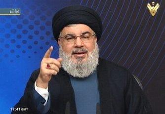 سید حسن نصرالله: آمریکاییها به دنبال سوار شدن بر موج اعتراضها در منطقه هستند