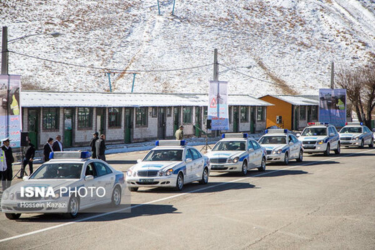 طرح زمستانی پلیس راهور در تهران آغاز شد