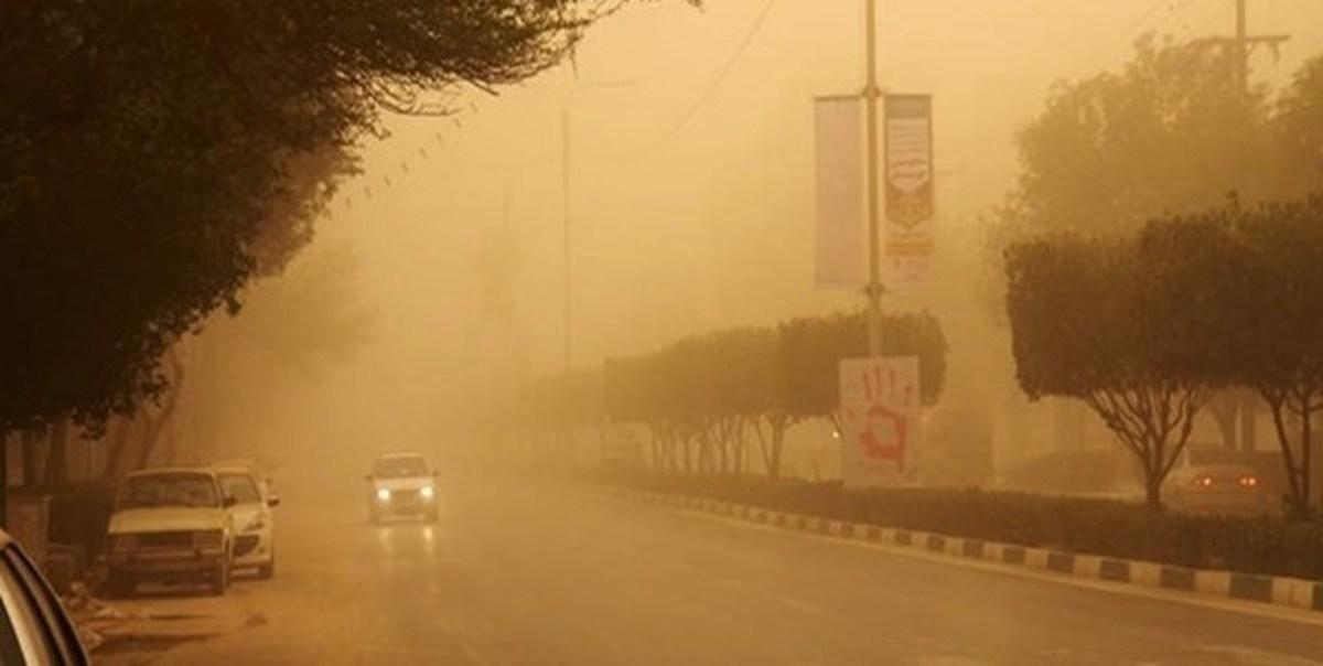 وزش باد شدید و خیزش گرد و خاک در برخی از استانها